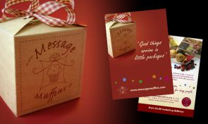 Message Muffins design by Amazing Creative
