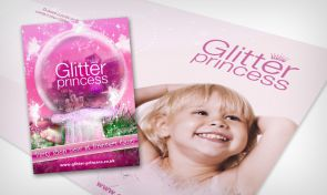 Glitter Princess design by Amazing Creative
