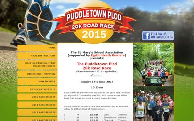Puddletown 20k Race