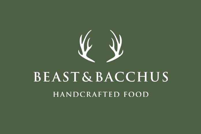 Beast & Bacchus logo design by Amazing Creative