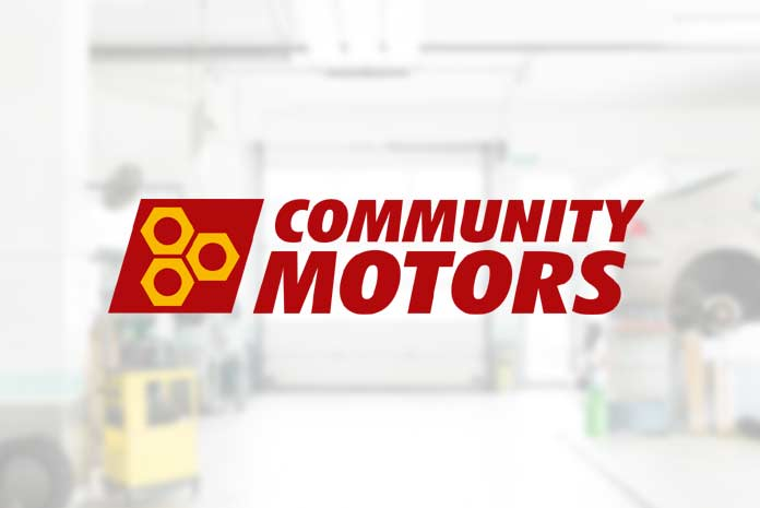 Community Motors logo design by Amazing Creative