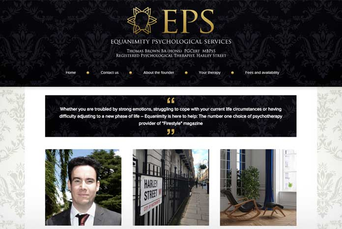 EPS website design by Amazing Creative