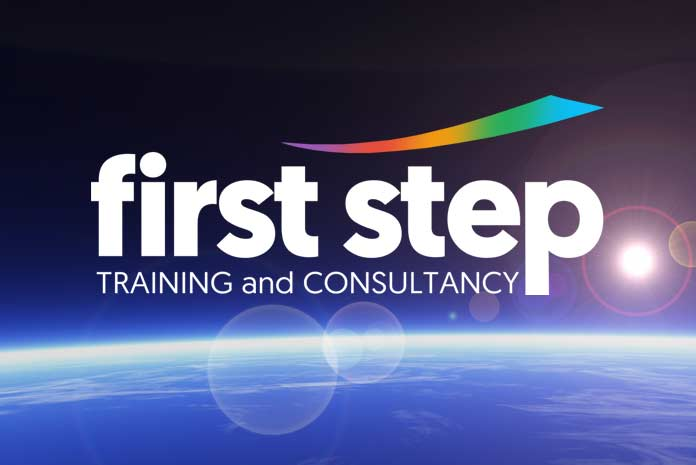 First Step logo design by Amazing Creative