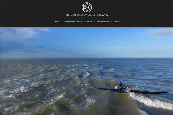 Greenland paddles website design by Amazing Creative