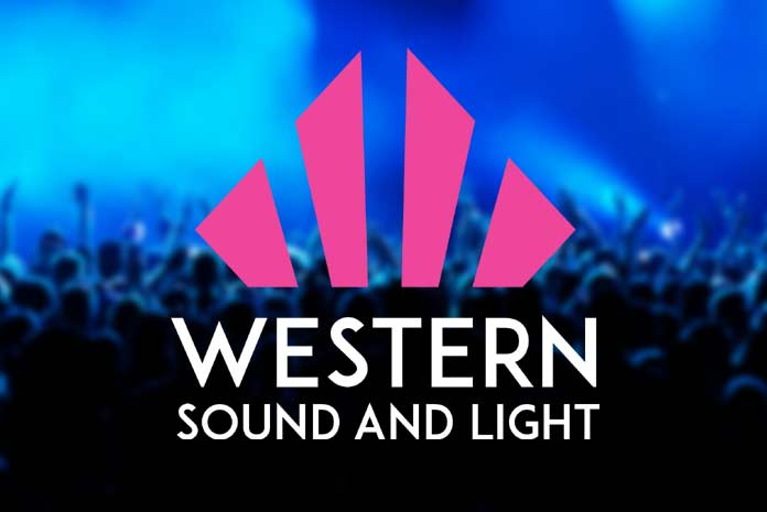 Western Sound and Light logo design by Amazing Creative